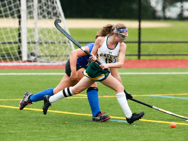 Shannon Tringola Leads RBC Field Hockey Past Holmdel 5-2