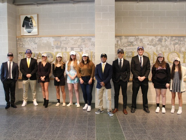 RBC Student Athletes Sign College Commitment Letters