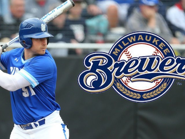 Michael Alescio '14 signs with the Milwalkee Brewers