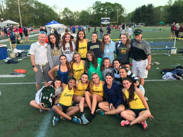 Eight members of the outdoor track team earn All Shore honors
