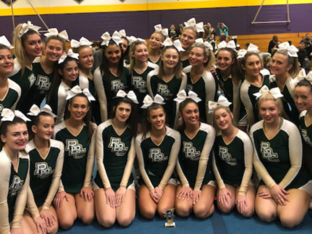 RBC Cheerleaders Bring Home 1st in Competition