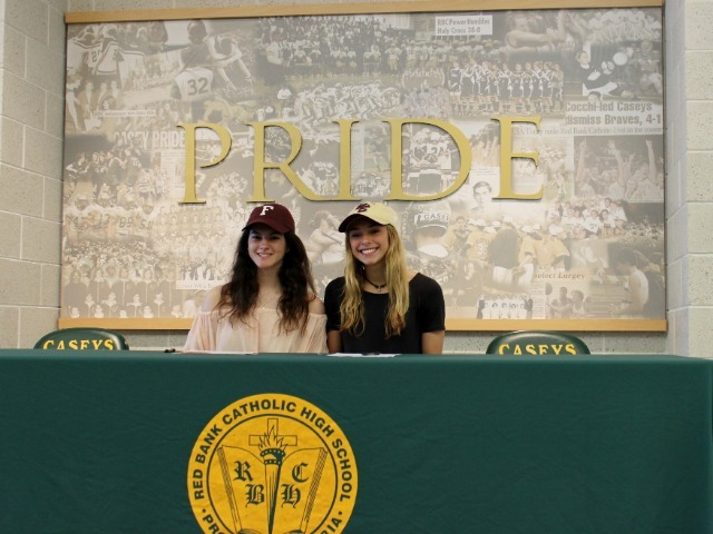 RBC Student Athletes Sign Commitment Letters