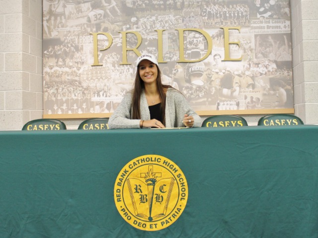 Katie Rice signing with Lehigh University for basketball