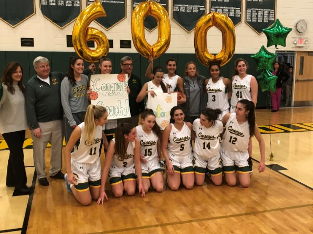Longtime Red Bank Catholic coach Montano captures career win No. 600