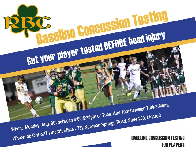 RBC Athletics to Offer Concussion Baseline Testing
