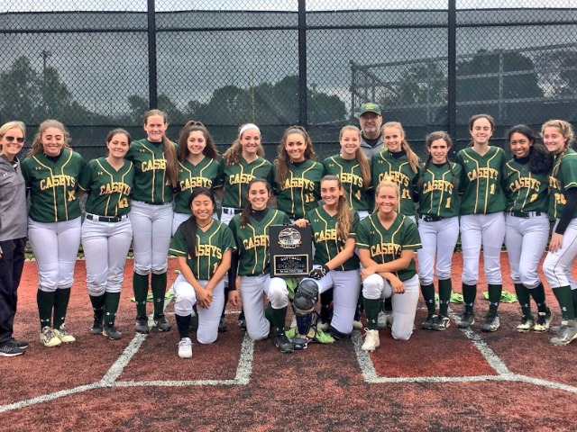 RBC softball wins Monmouth County Tournament, Blue Division title