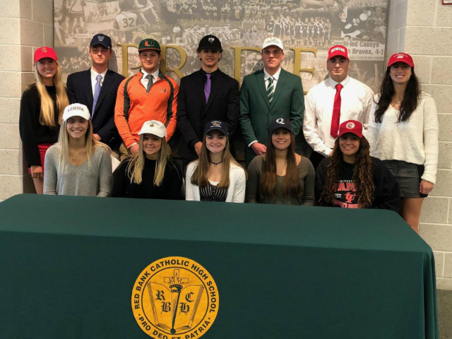 RBC Student-Athletes Participate in National Signing Day