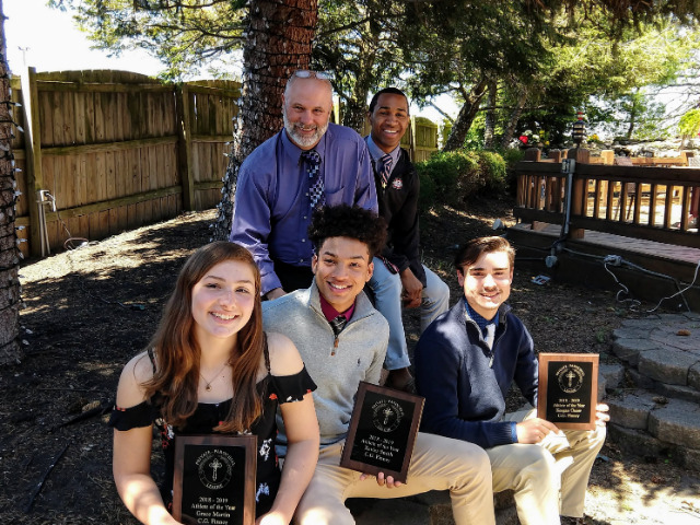 "Three Finney students honored at ""Athlete of the Year"" Awards"