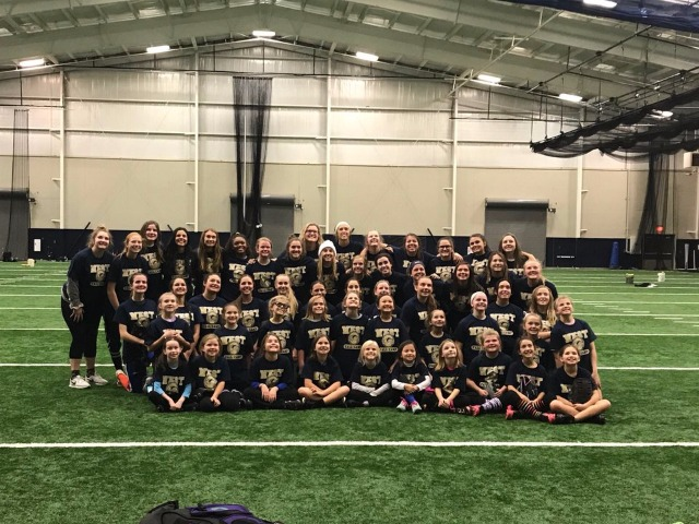 Awesome softball clinic put on by the BWHS Wolverines softball girls