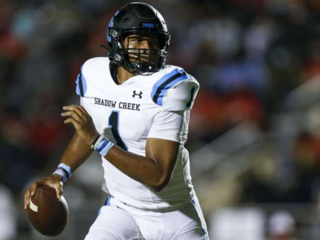 Shadow Creek QB Kyron Drones held out of Bridgeland game as precaution