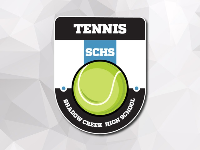 Shark tennis team shines at district
