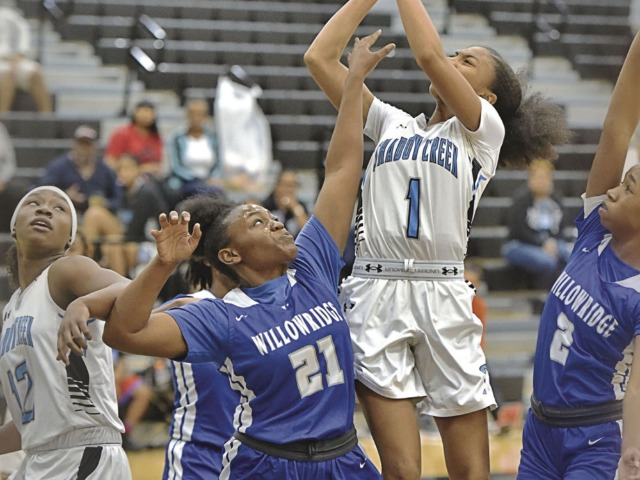 Lady Sharks brush off slow start, rout Willowridge