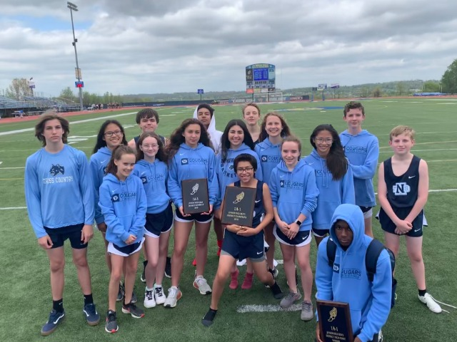 Junior High Track Teams finish with a Boys Championship and a Girls runner-up at the 1A-1 district meet