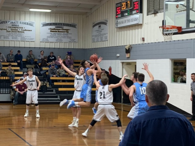 Image for Varsity Boys drop road game at Jasper