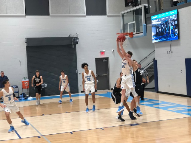 Cougar Varsity Boys continues win streak with victory over Arkansas Arts Academy