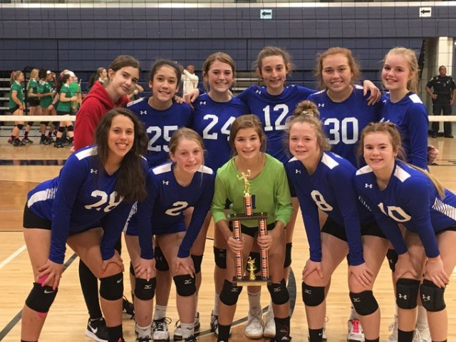 "8th Grade ""A"" Team Tournament Runner-up"