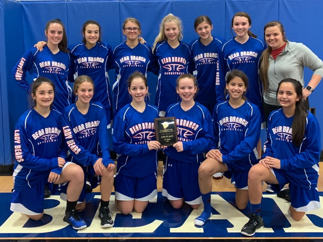 8A Lady Bears finish 2nd at BBJH Tournament