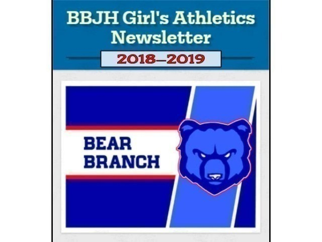 Image for BBJH Girls Athletics Newsletter