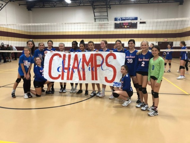 "7th Grade ""B"" Team DISTRICT CHAMPIONS!"