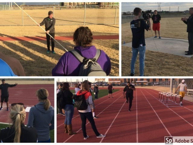 FISD Coaches Share Expertise with Colleagues at Track Clinic