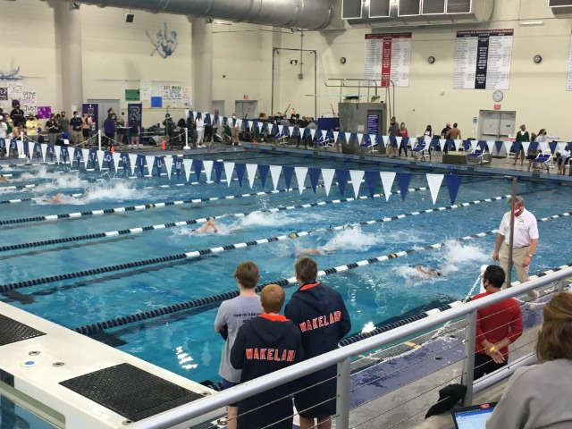 Swimmers and Divers Honored at District Meet