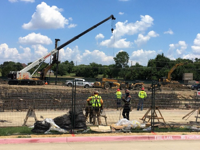 Image for Construction Continues on New FISD Swimming Facility
