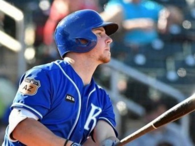 Wakeland graduate hits homer in debut with Royals