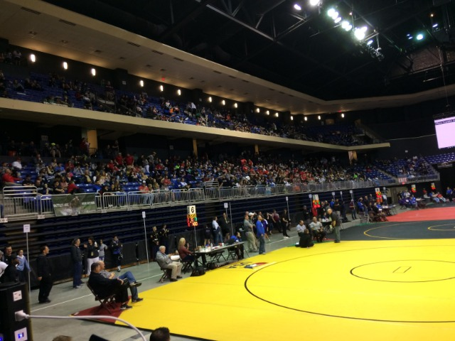 Frisco ISD Wrestlers Battle for District Championships