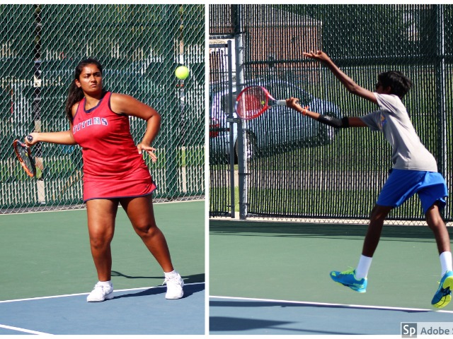 Dry Weather Helps FISD Tennis Teams Get Back on the Courts