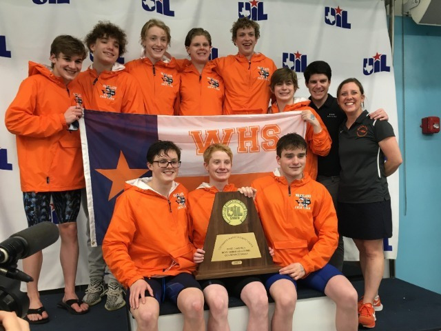 State Swimming Meet Includes State Title for Wakeland, District Earning Medals in 13 Events