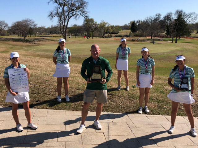 Lebanon Trail Wins Girls District 9-5A Golf Title
