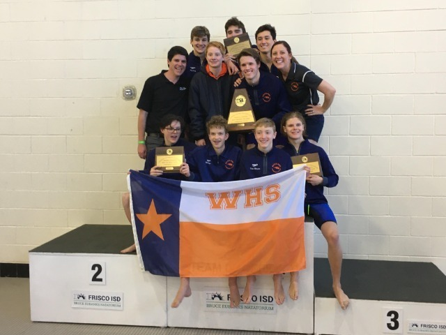 Wakeland Leads Strong District Performance at Regional Swimming and Diving Meet