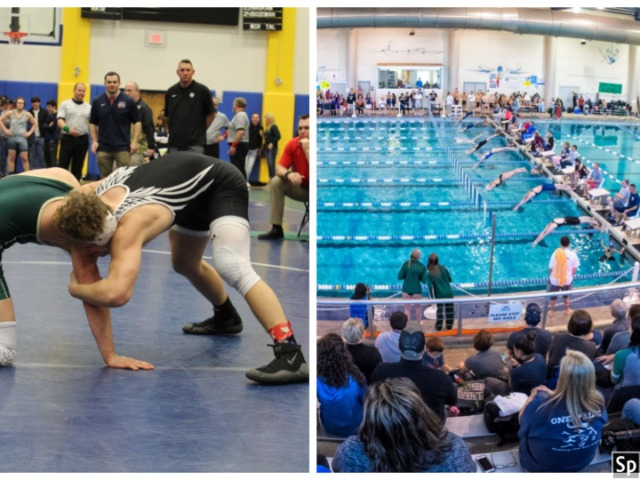 Big Sports Weekend Includes State Swimming, Regional Wrestling
