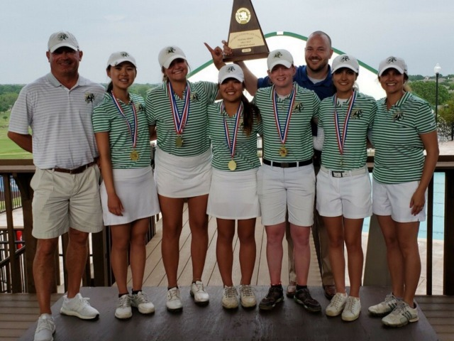 Image for Lebanon Trail Girls Team Wins Regional Golf Title