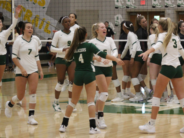 Lebanon Trail Volleyball Team Clinches Second Straight Playoff Appearance