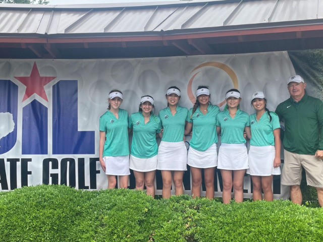 Image for Lebanon Trail Girls Golf Team Finishes Fourth in State