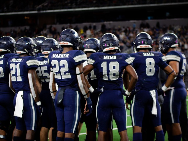 Lone Star Football Team Beats College Station, Helps FISD Break Record