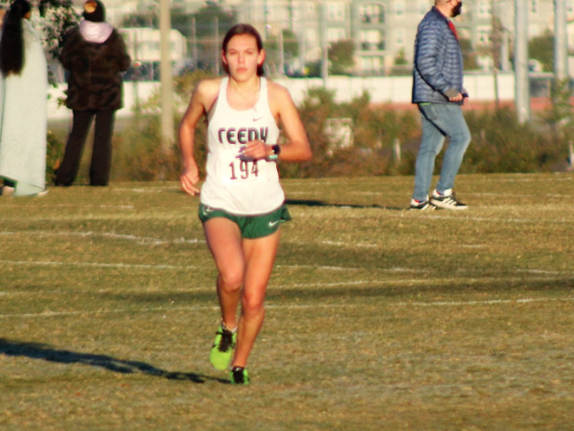Reedy Wins District Cross Country Title