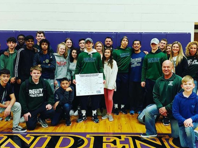 Image for Reedy Wrestling  Team Wins Medals at Region Meet