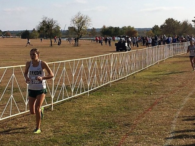 Image for Reedy's Colleen Stegmann 5th, boys team 8th at State Cross Country