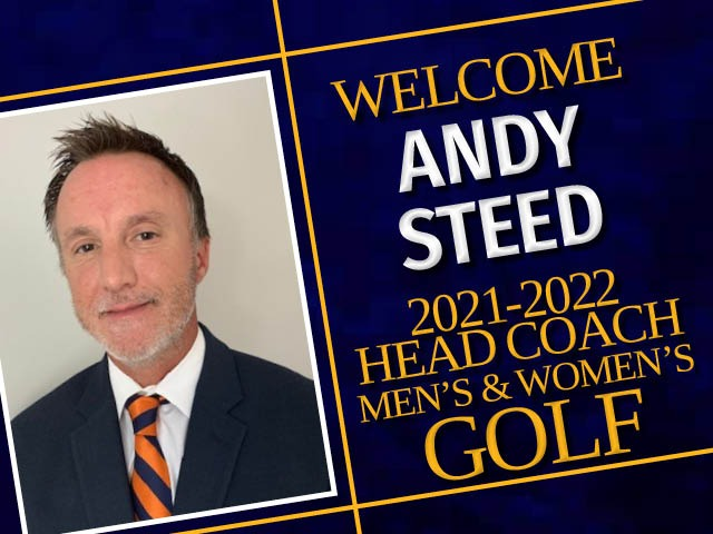 Image for Andy Steed named Men's & Women's Golf Coach