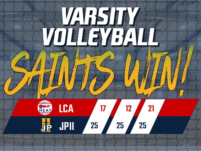 Volleyball Gets 8th Win Against Liberty Christian