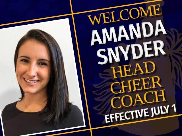 Welcome Cheer Coach Amanda Snyder!