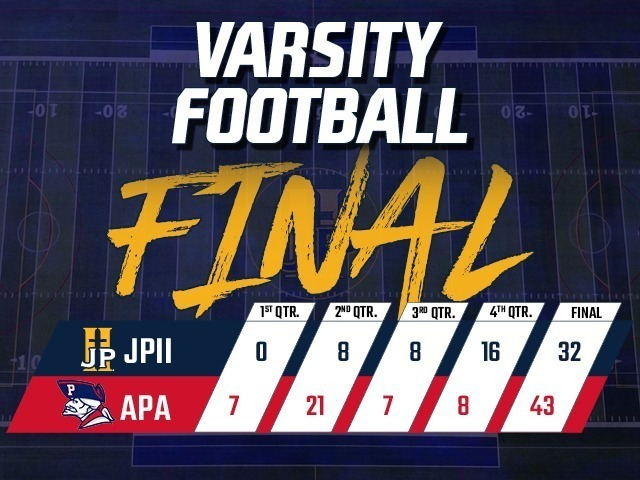 Football Falls to 4-2 After Loss to APA