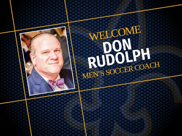 Don Rudolph named head coach for men's soccer