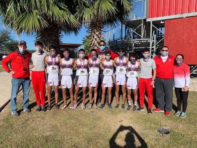 Pioneer Boys XC Headed to Regionals