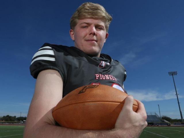 Image for Rise to the top: Sharyland Pioneer's Marburger named All-Area Player of the Year