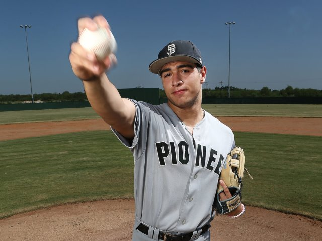 Image for Sharyland Pioneer's Jacob Rosales is The Monitor's All-Area Baseball Player of the Year