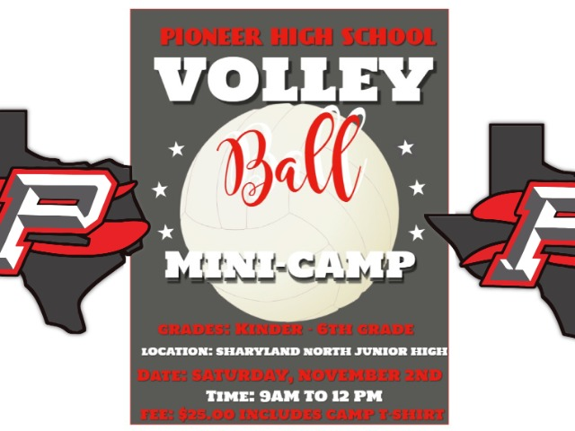 Image for Pioneer Volleyball Camp