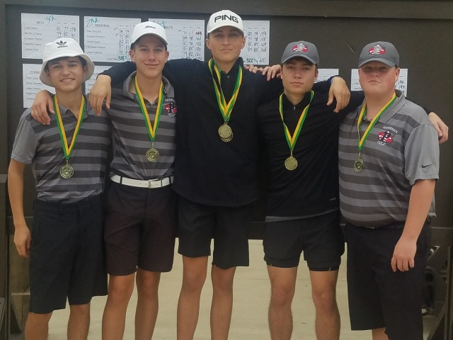 Pioneer Boys Win Harlingen Golf Tourney